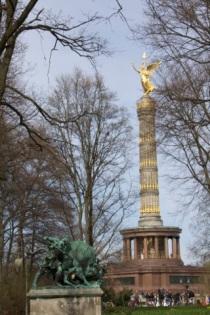 la Siegessäule, la colonne de la Victoire