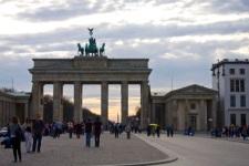 la Porte de Brandenburger
